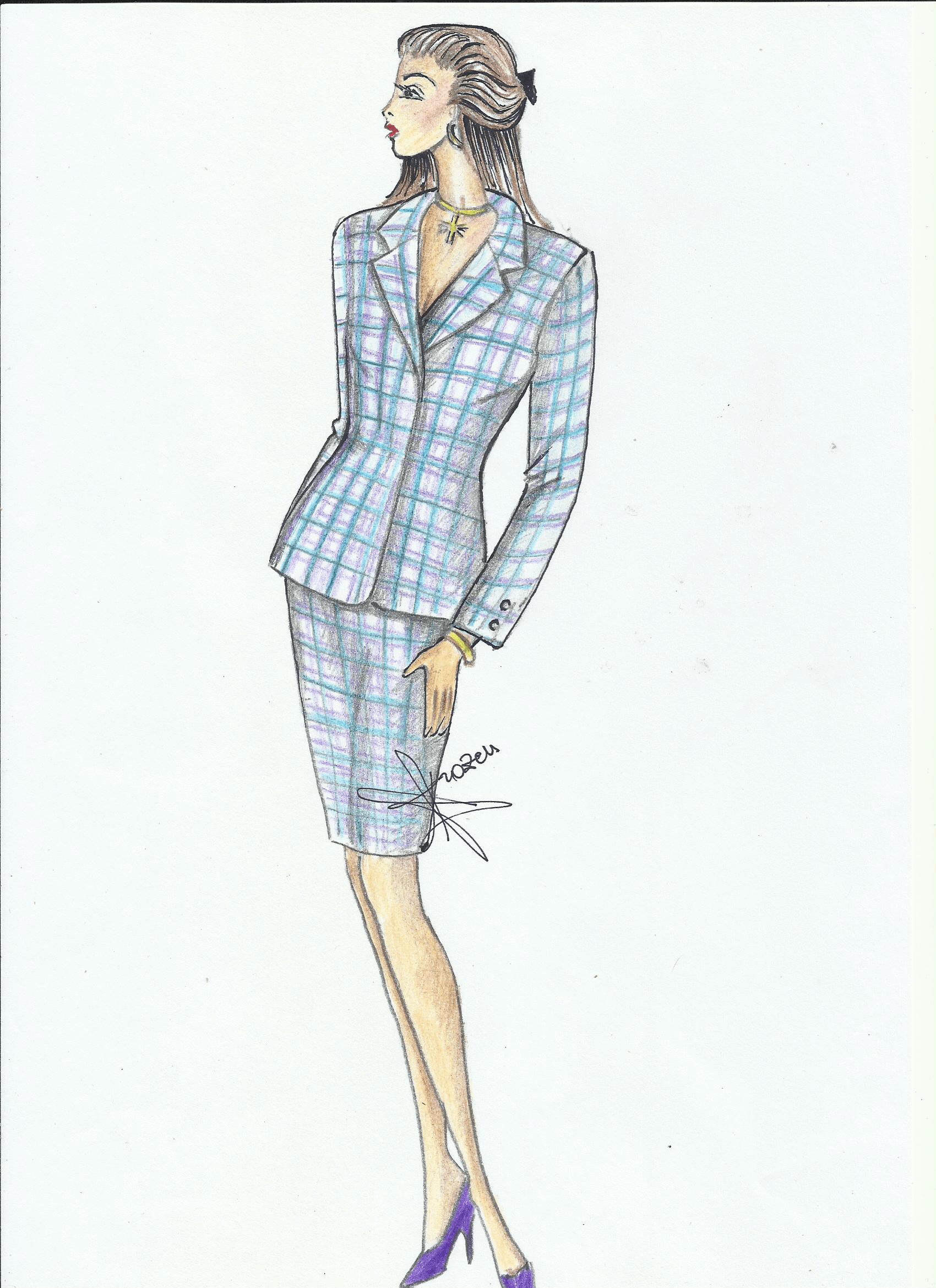 tessuto a scacchi per abito a giacca