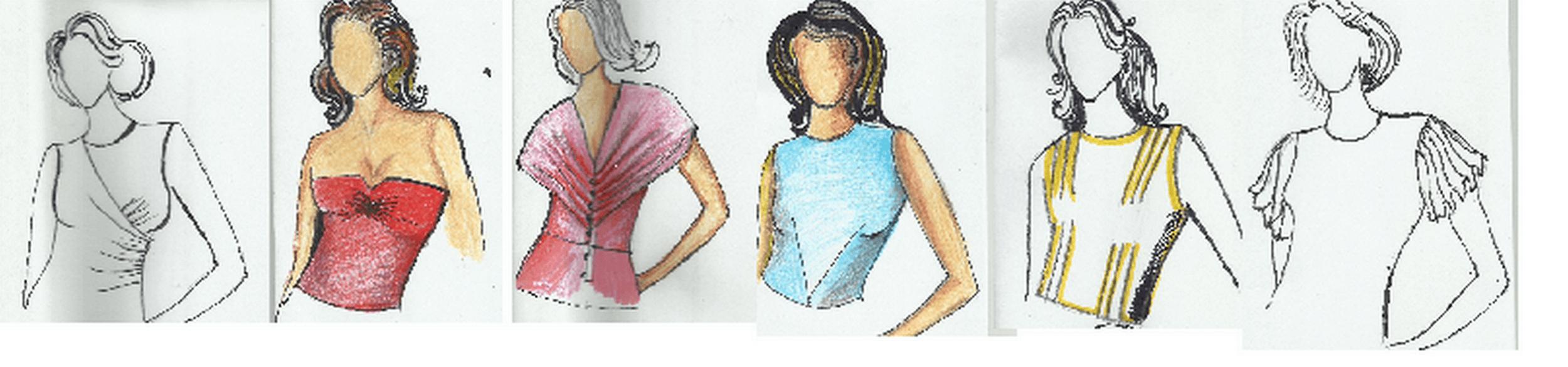 corpini e maniche senza difetti sequenza