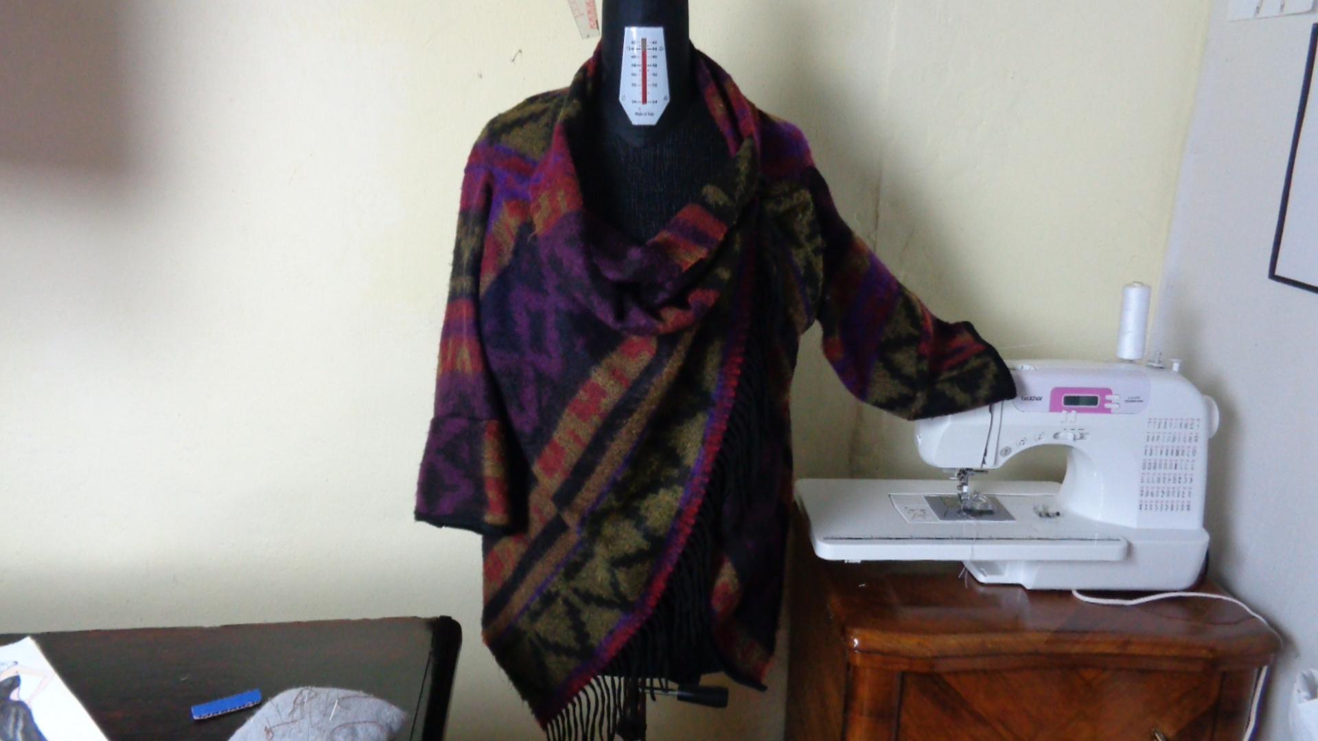mantella giacca