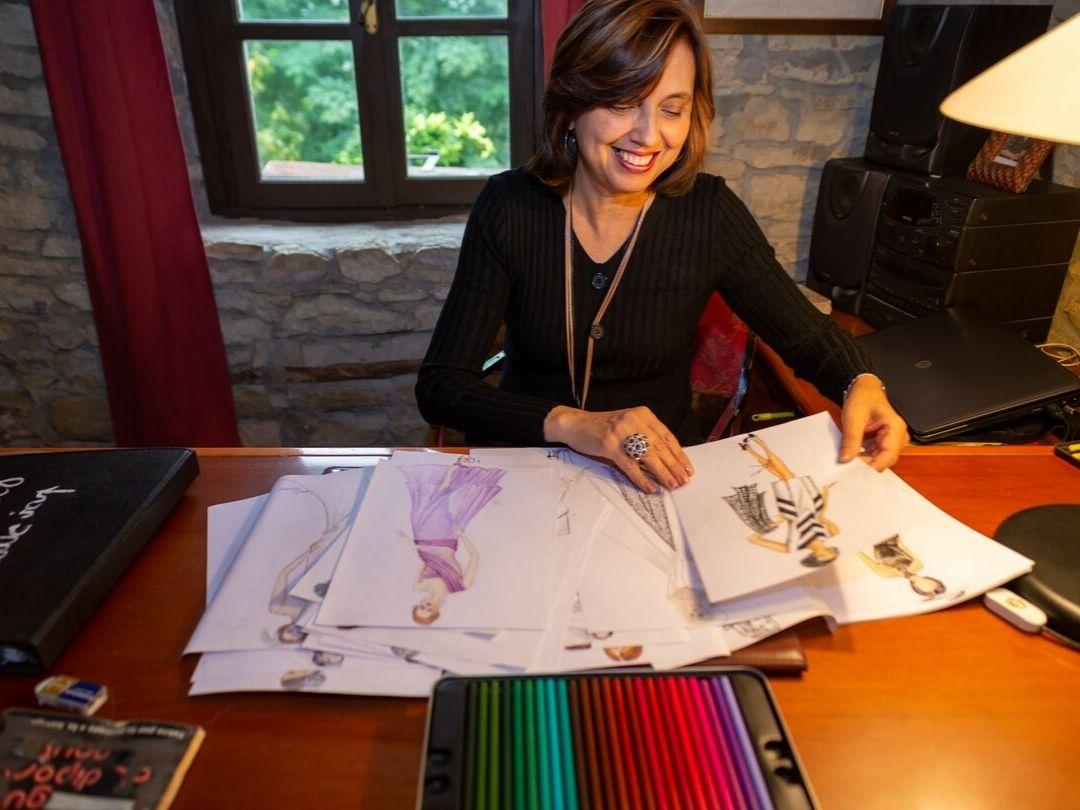 Marzia Pozzato Sarta, appassionata di moda e modellistica, creatrice del metodo FashionFrozen.